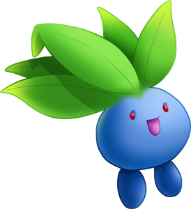 oddish transparent shiny