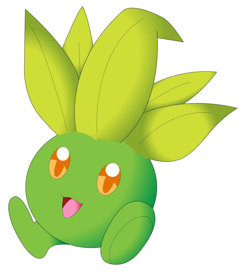 Oddish transparent leaf. Shiny by nightsandtailsfan on