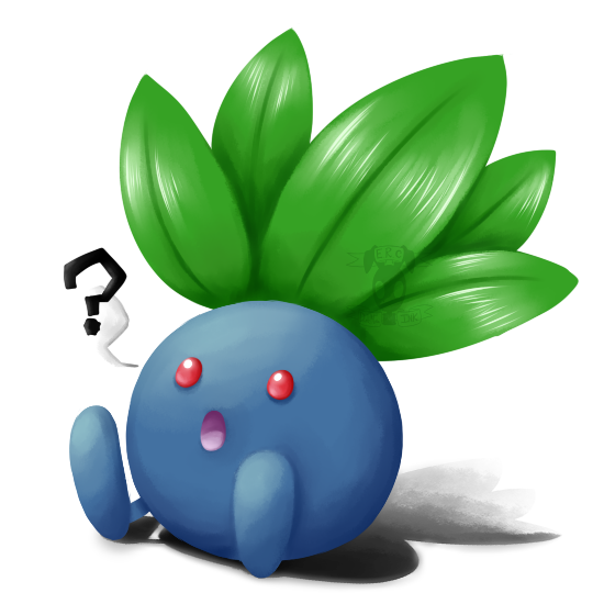 Oddish transparent transparency. A little by toxic