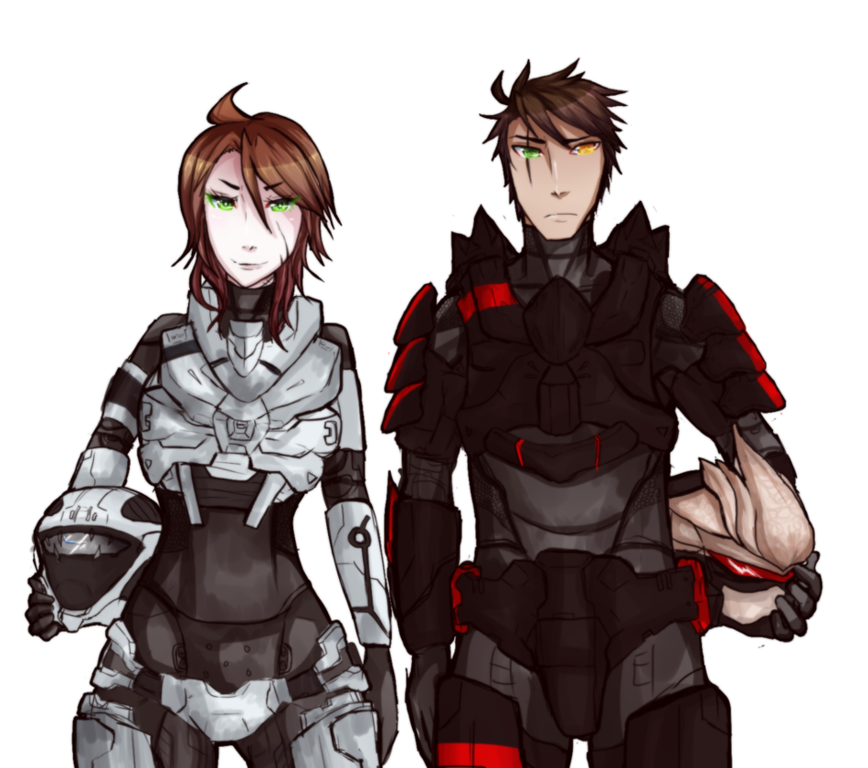Odst drawing anime. Spartans by vianathezombie on