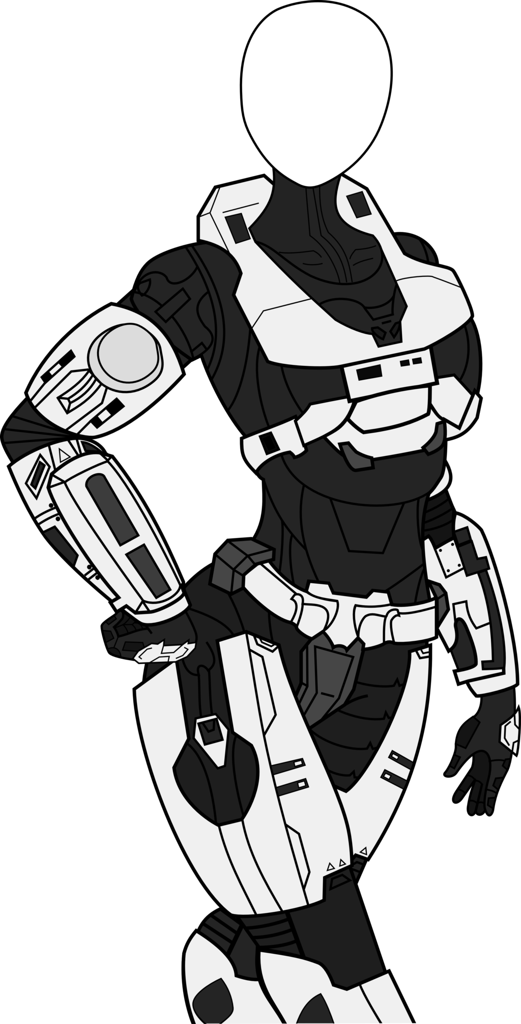 Odst drawing female. Collection of halo
