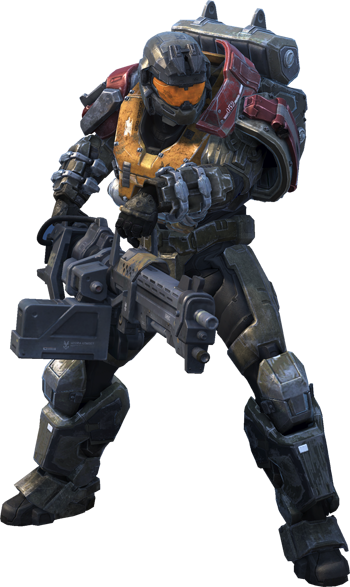 Odst drawing halo reach. Jorge google search pinterest