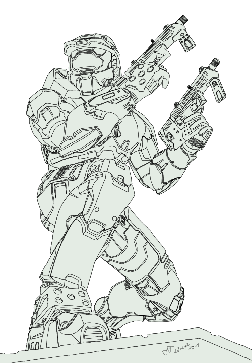 Master chief sketch google. Odst drawing pencil graphic library library