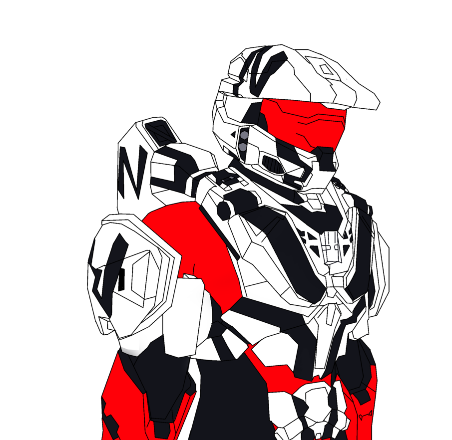 Odst drawing red. The evil of incorrectness