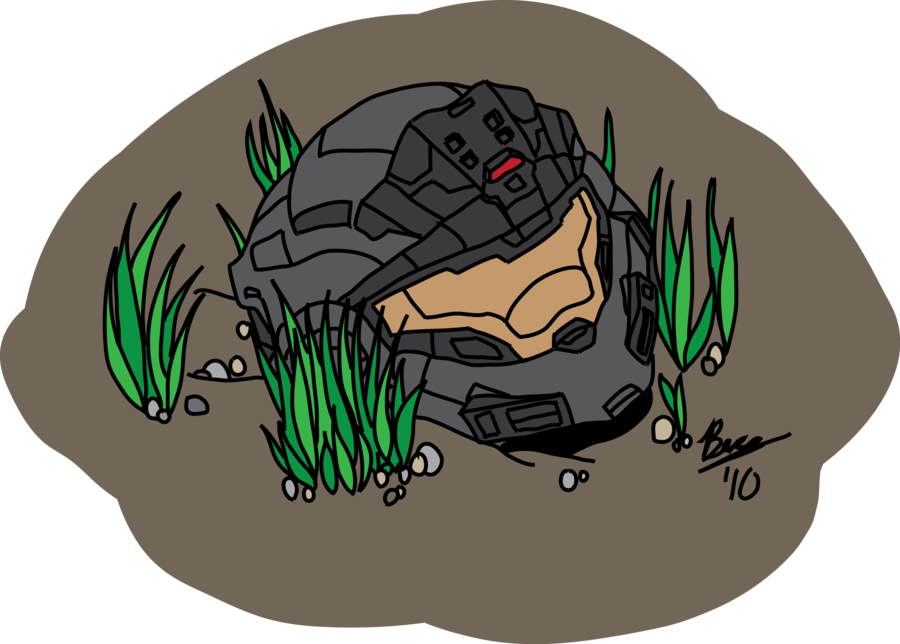 Odst drawing sad. Courage by izaak on