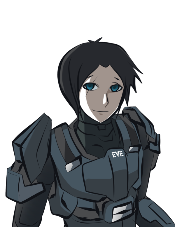 Odst drawing sketch. Speed doodle evelyn by