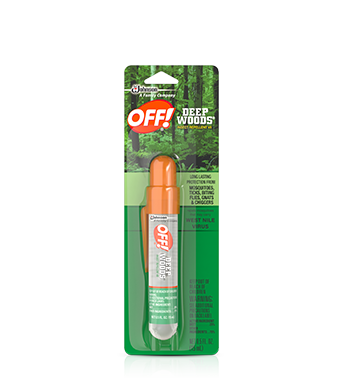 Off clip spray. Deep woods insect repellent