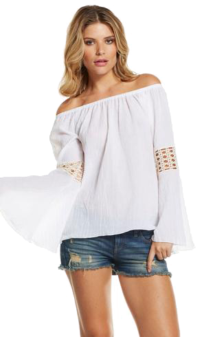 off the shoulder with bell sleves png