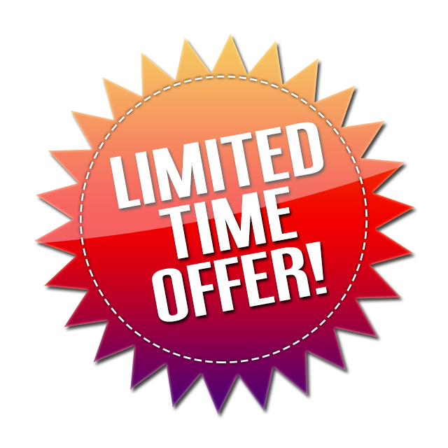 Offer sticker png. Limited transparent images pluspng