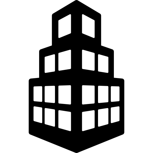 Office building icon png. Stepped free buildings icons