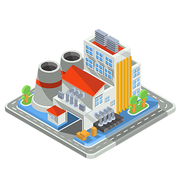 Swamp vector isometric. Office building png images