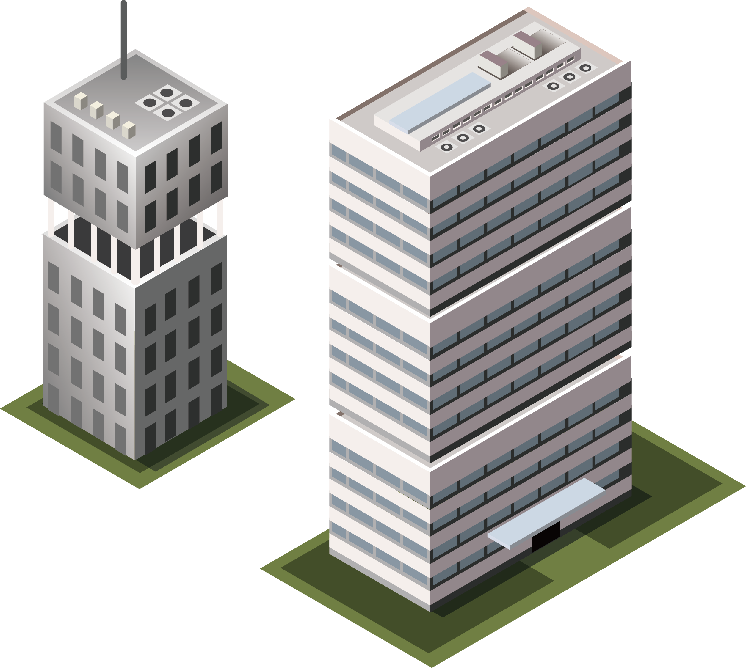 Vector buildings transparent. Building office icon transprent