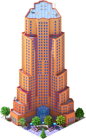 Office building png. Image teleport towers megapolis