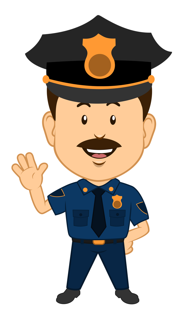 Police clipart cute. Free image of officer