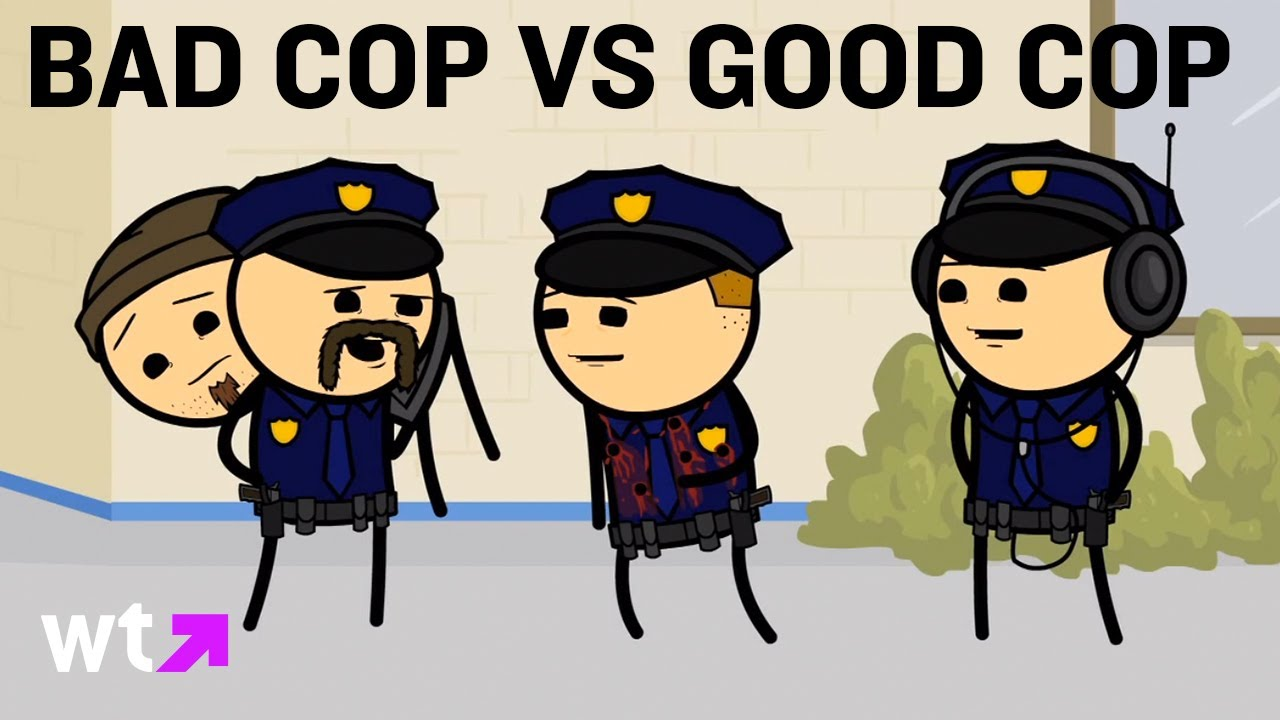 Officer clipart bad cop. Cyanide happiness play good
