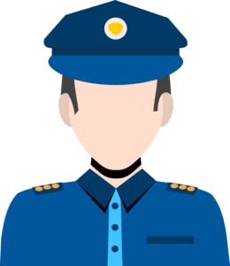 Officer clipart fined. Experts comments on first