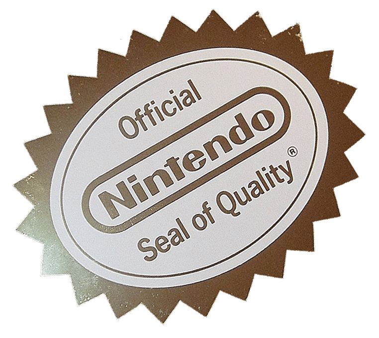 Quality seal png. Official nintendo adcolony officialnintendosealpng