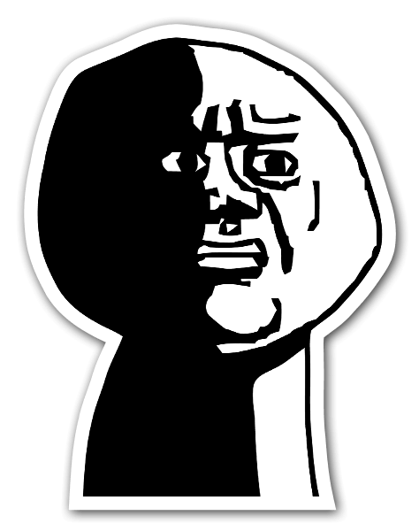 Oh god png. Stickerapp why rage face
