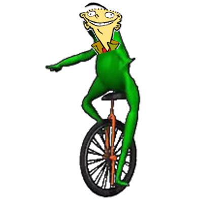 Oh shit whaddup png. Here come dat ed