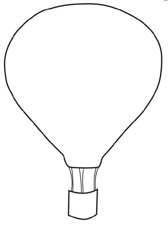 Oh the places ll clipart air balloon. Free printable hot template