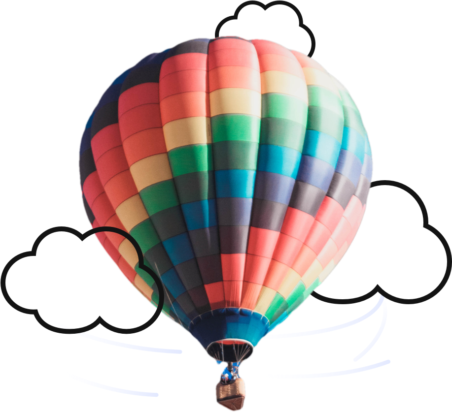 Oh the places ll clipart air balloon. Download hd we go