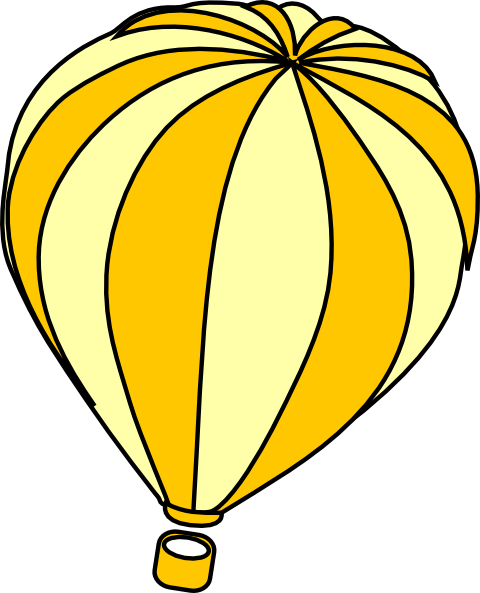 Oh the places ll clipart air balloon. Hot drawing template panda