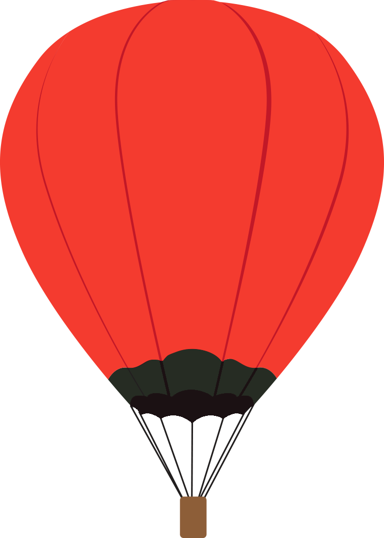Oh the places ll clipart air balloon. Buncee you go