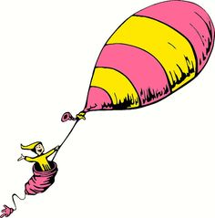 Oh the places ll clipart air balloon. You go dr seuss