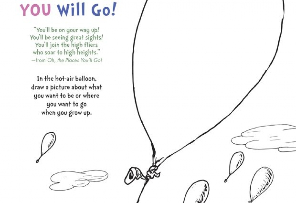 Oh the places ll clipart coloring. You go pages democraciaejustica