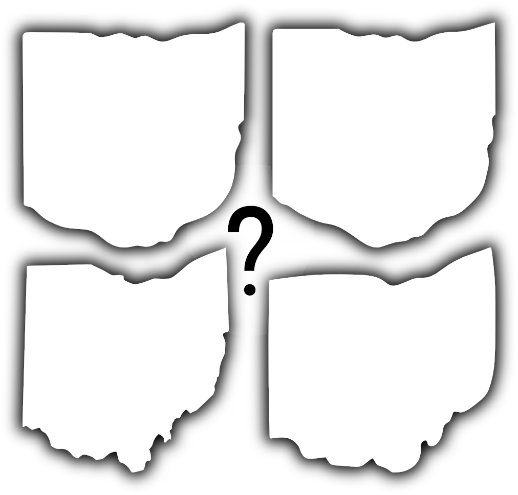 Ohio shape png. The most accurate of