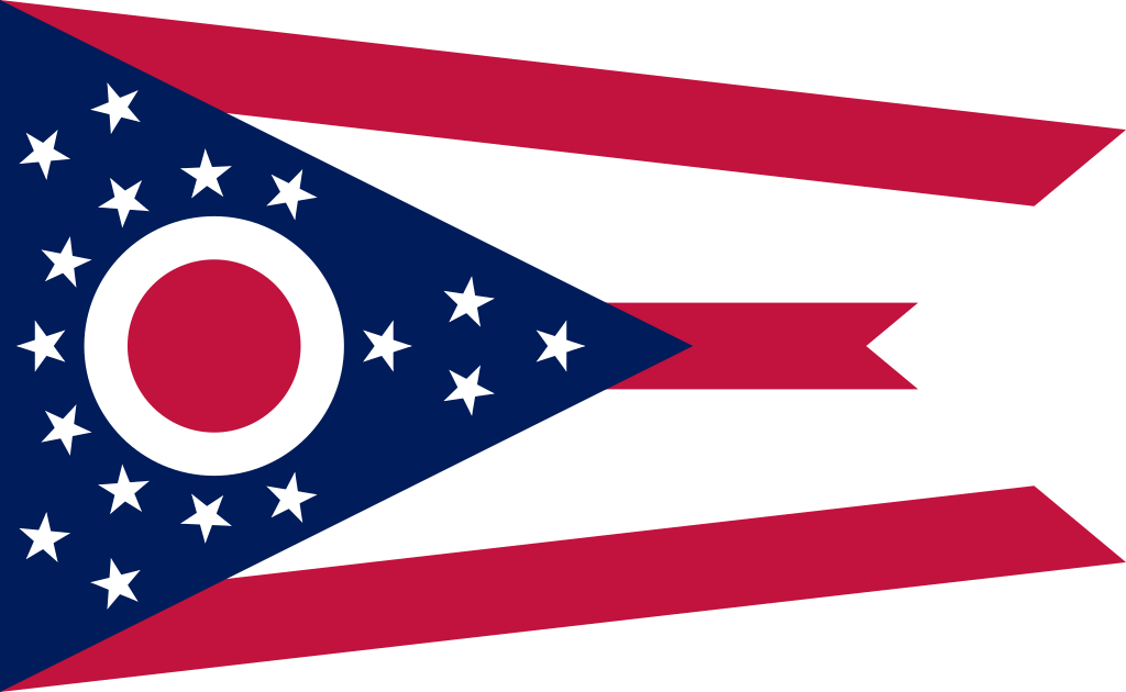 Svg flags thin red line. File flag of ohio