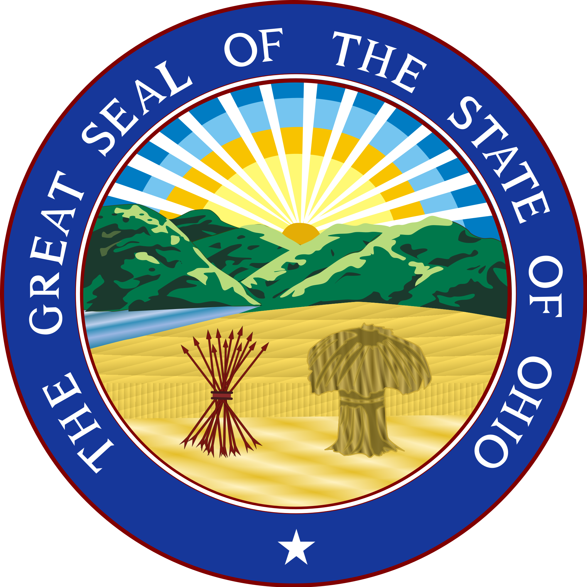 Ohio state seal png. File of svg wikimedia