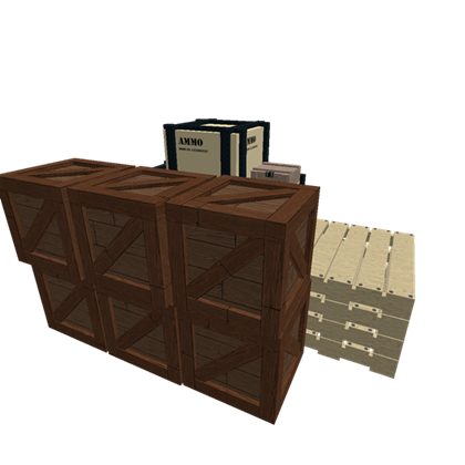 Oil crate png. Pellets ammo roblox