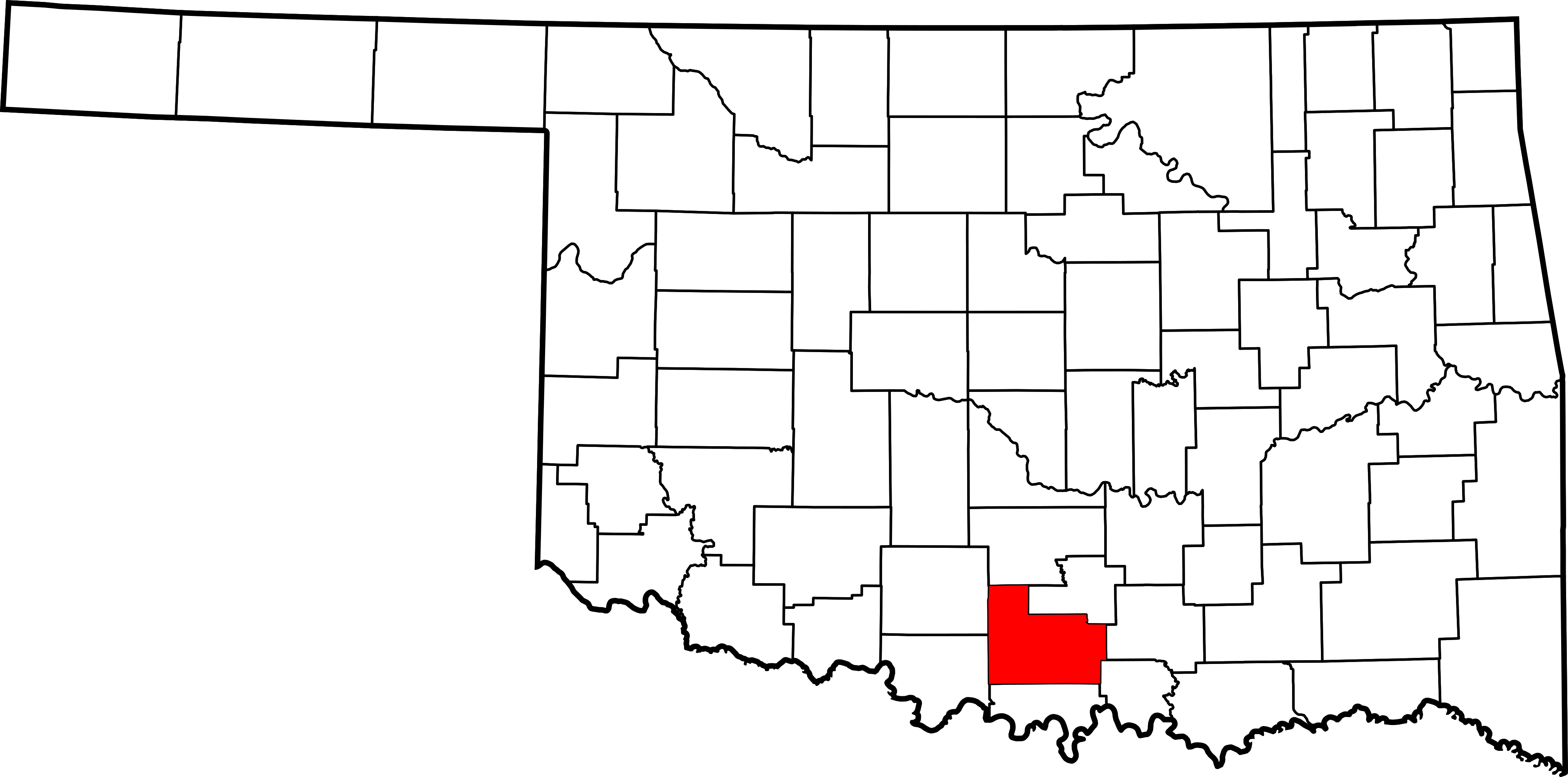 Svg properties counties. File map of oklahoma