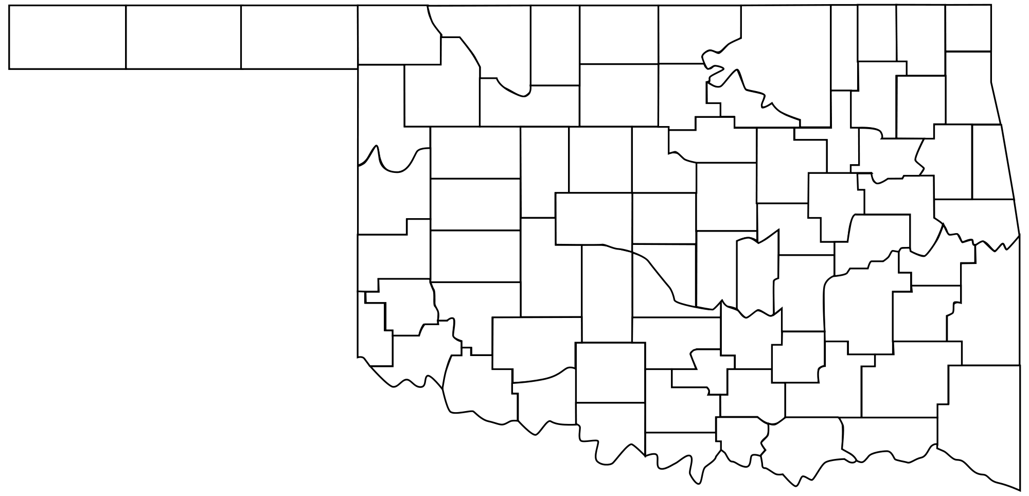 Oklahoma outline png. File county map svg