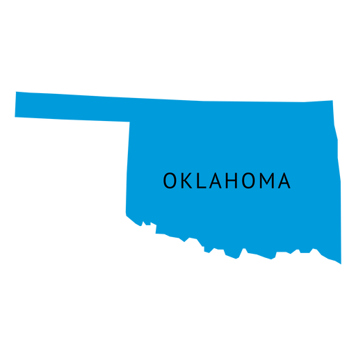 Oklahoma vector transparent. State plain map png