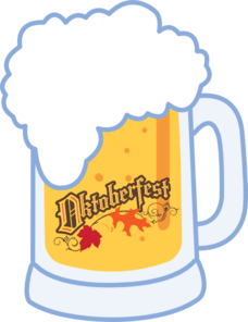 oktoberfest vector invitation