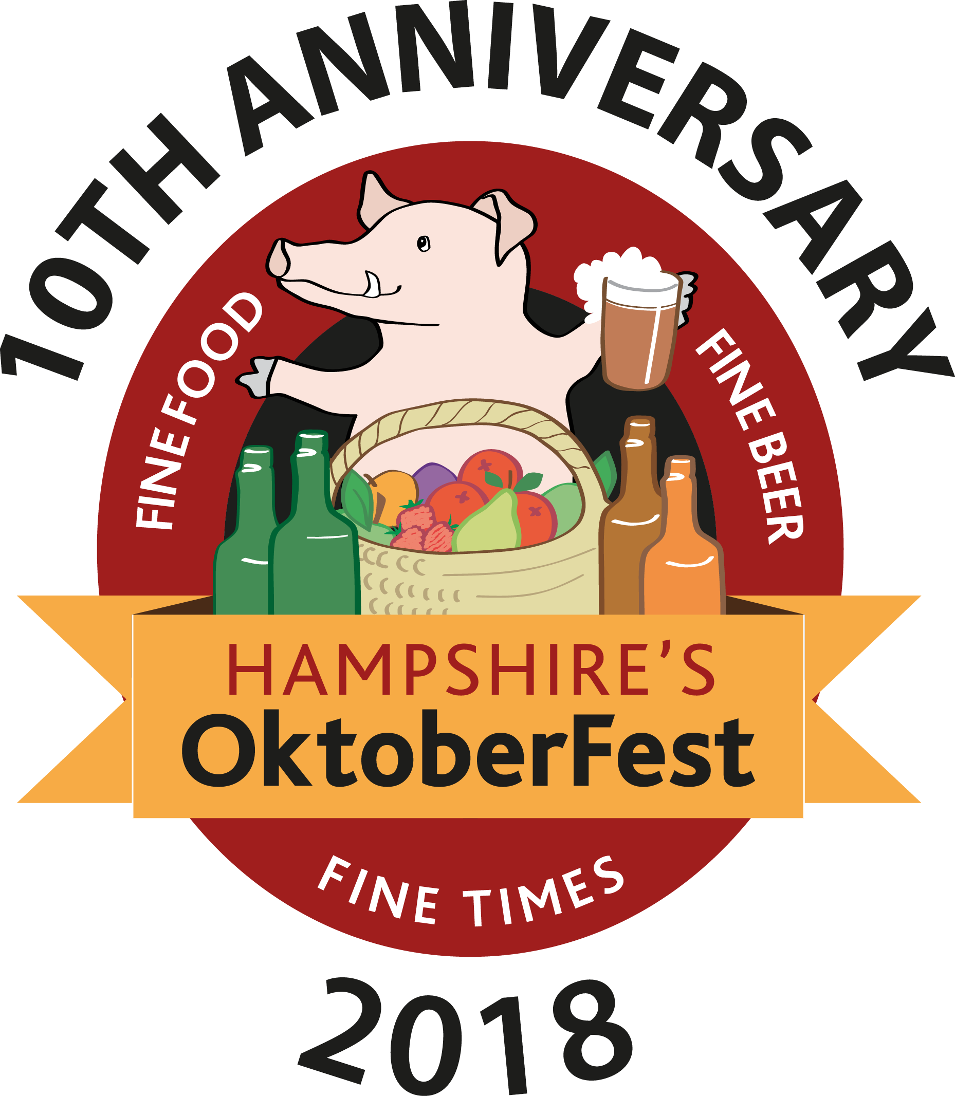 Oktoberfest vector page. Family fun hampshire s