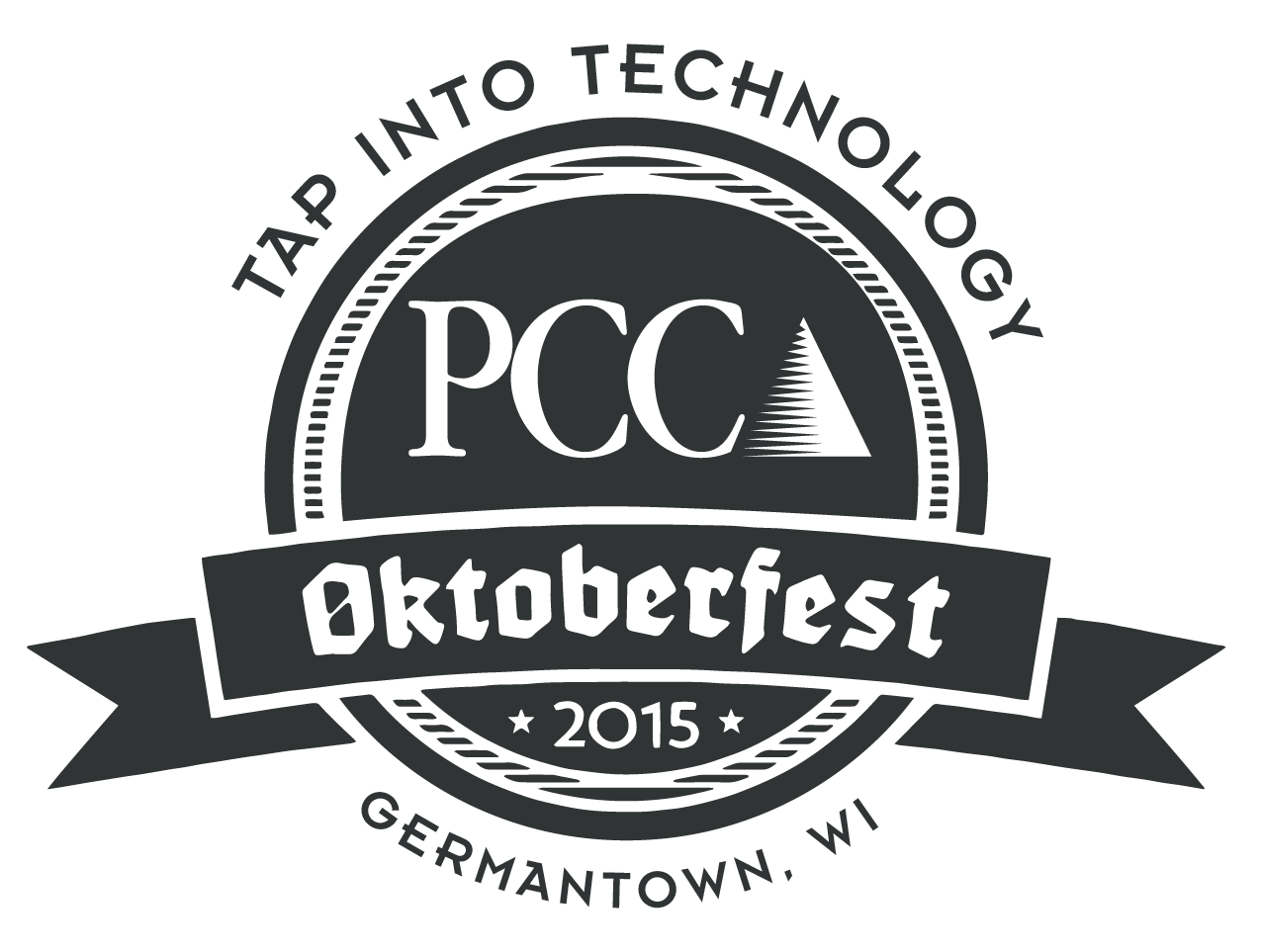 Oktoberfest vector page. Pcc tap into technology