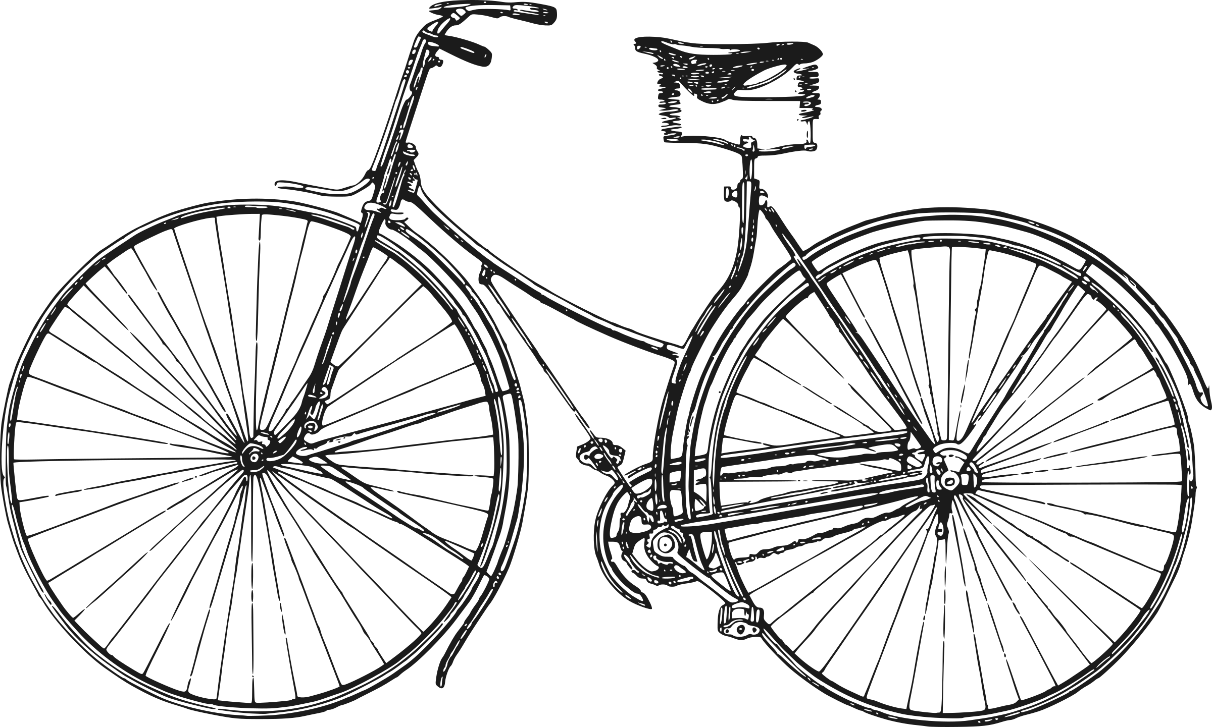 Icons png free and. Cycle clipart old bicycle graphic library