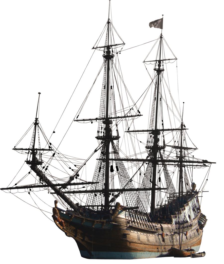Old boat png. Ancient sailing ship transparent
