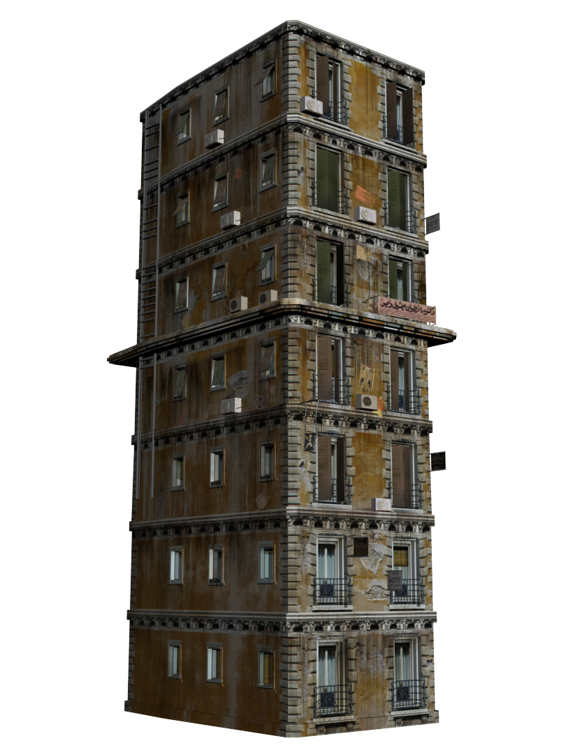 Old building png. Low poly buildings