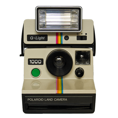 Polaroid picture clipart old. Photo cameras transparent png