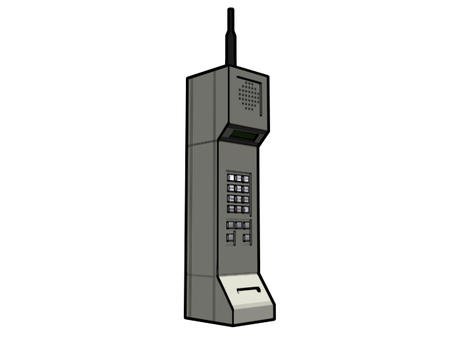 Old cellphone png. Retro style gregboswell advertisements