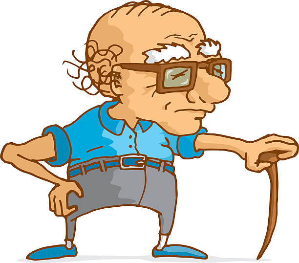Old clipart. Person station clip art