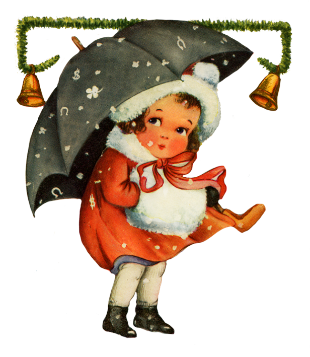 christmas clipart vintage
