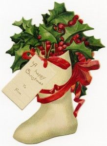 Old clipart christmas. Best art vintage