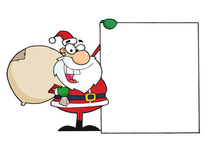 Old clipart christmas. Free santa claus clip