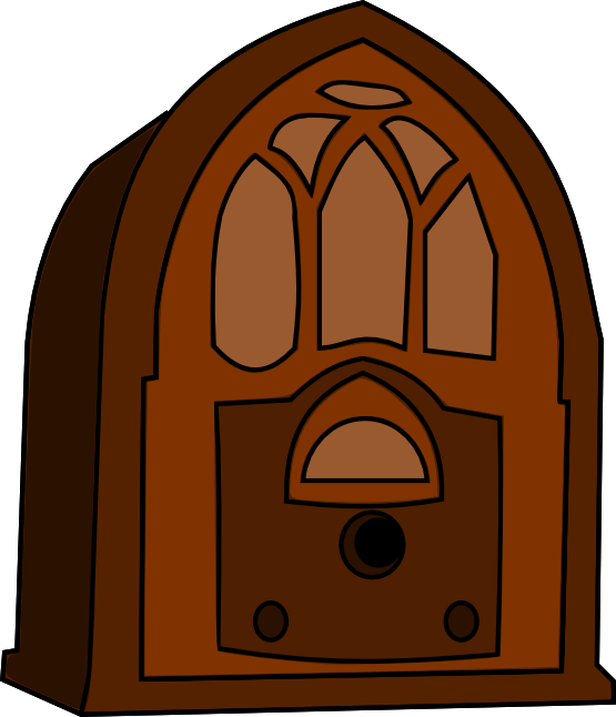 Toaster clipart vintage. Free old radio cliparts