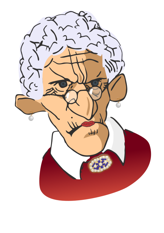 Confused old lady png. Free woman photos download